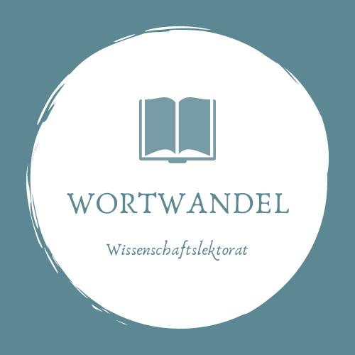 Wissenschaftslektorat Wortwandel Logo